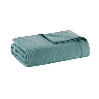 Textured Cotton Blanket