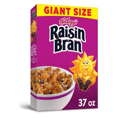 Raisin Bran Breakfast Cereal - 37oz - Kellogg's - image 1 of 4