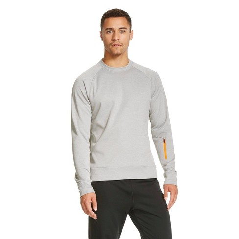 C9 Champion® - Men's Tech Fleece Crewneck Sweatshirt Nickle L - image 1 of 1
