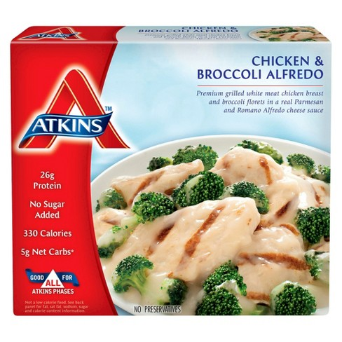 Atkins Chicken Broccoli Alfredo Frozen Meal - 9oz - image 1 of 1