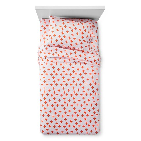 Plus Sign Sheet Set - Pillowfort™ - image 1 of 1