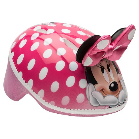 Bell Toddler 3D Minnie Mouse BikeHelmet - image 1 of 4