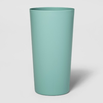 26oz Plastic Tall Tumbler Green - Room Essentials™