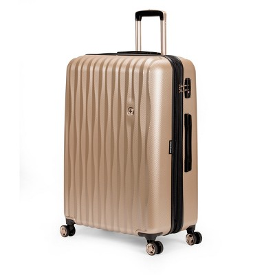 SwissGear Energie PolyCarb Hardside 28  Suitcase - Gold