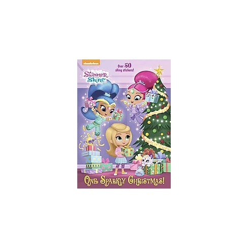 One Sparkly Christmas! - (Hologramatic Sticker Book) (Paperback) - image 1 of 1