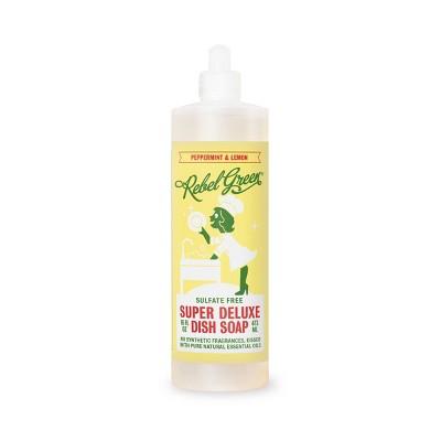 Rebel Green Peppermint & Lemon Dish Soap - 16oz/2ct