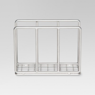Steel Wire Napkin Holder - Powder Coated Nickel Finish - Threshold™
