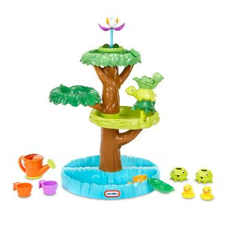 Little Tikes Magic Flower Water Table with Blooming Flower and Accessories