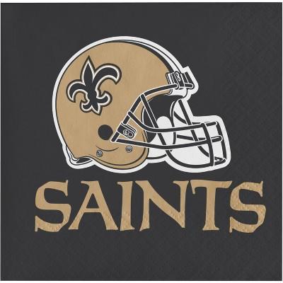 48ct New Orleans Saints Football Napkins