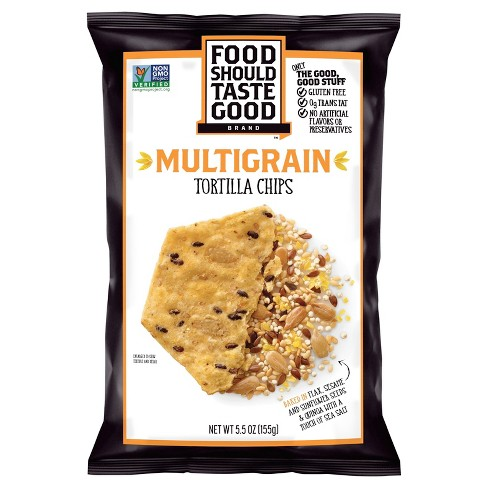 Food Should Taste Good Multigrain Tortilla Chips - 5.5oz - image 1 of 1
