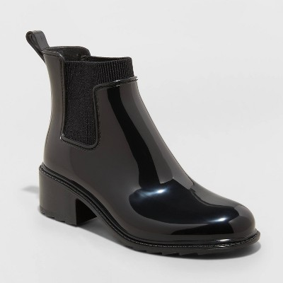 Women's Camille Heeled Boots - A New Day™