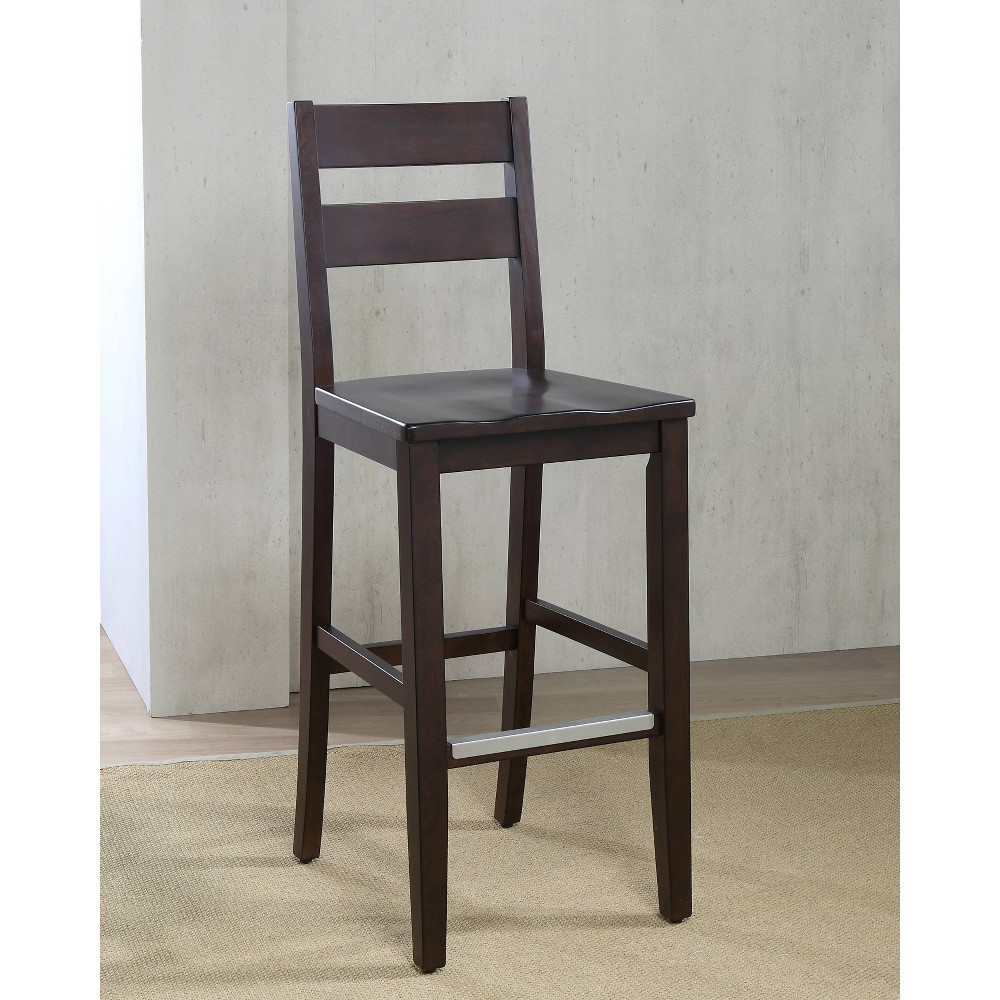 Image of 2pk Ryan Bar Height Stool Chestnut Brown - American Heritage Billiards