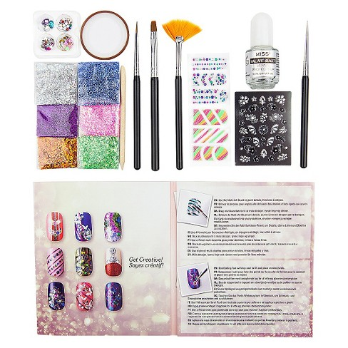 Kiss Salon Secrets Nail Art Starter Kit : Target
