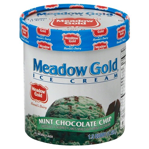 Meadow Gold Mint Chocolate Chip Ice Cream - 48oz - image 1 of 1