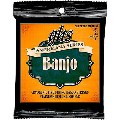 GHS Americana Medium Banjo Strings (11-LWJD-11)