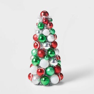 12in Large Shatterproof Tree Red/Green/White - Wondershop™