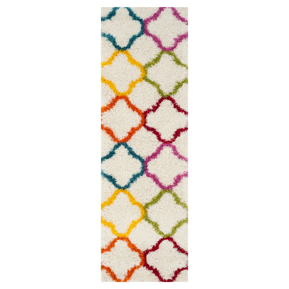 Adkyn Area Rug - Ivory (2'3x7') - Safavieh, White