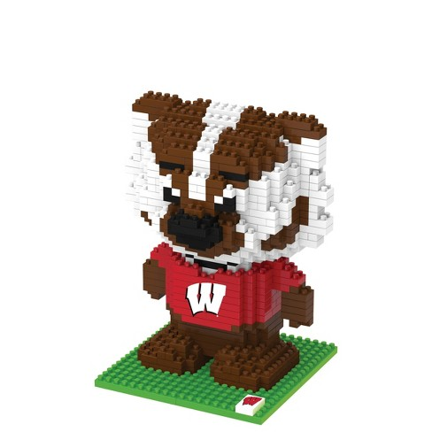 NCAA Wisconsin Badgers 3D BRXLZ Mascot Puzzle 1000pc - image 1 of 1