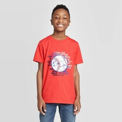 Boys' Baseball Short Sleeve Graphic T-Shirt - Cat & Jack™ Red