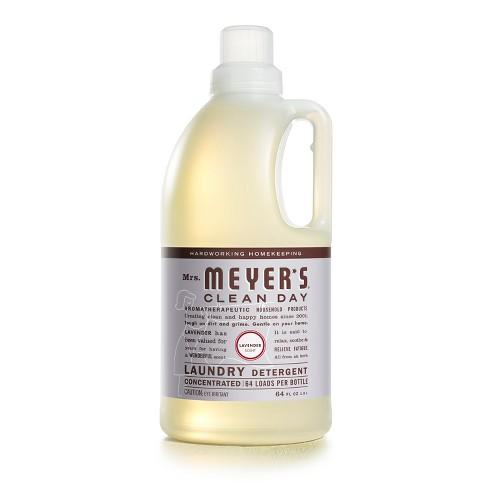 Mrs Meyer S Lavender Scented Laundry Detergent 64 Fl Oz