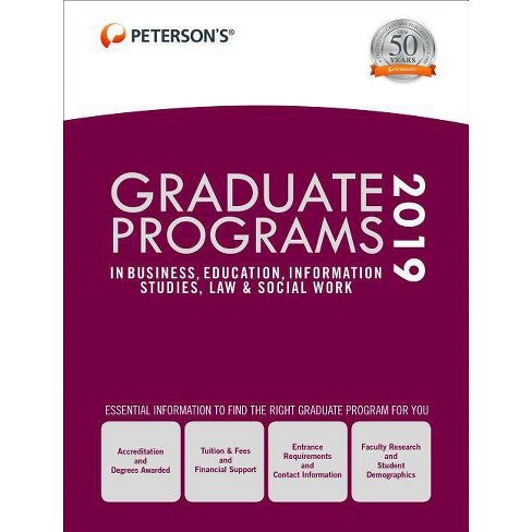 Graduate Programs in Business, Education, Information Studies, Law & Social Work 2019 (Grad 6) - image 1 of 1