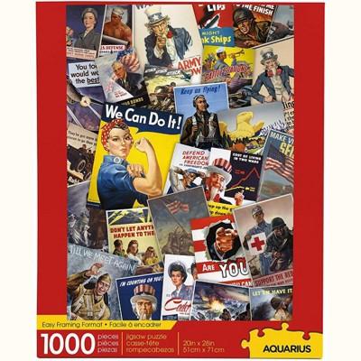 NMR Distribution Smithsonian War Posters 1000 Piece Jigsaw Puzzle