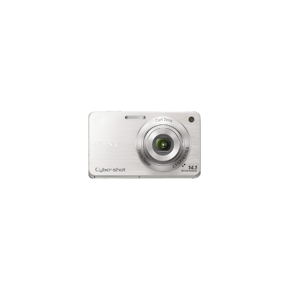 Sony Cyber-shot DSCW560 14.1MP Digital Camera with 4x Optical Zoom - Silver
