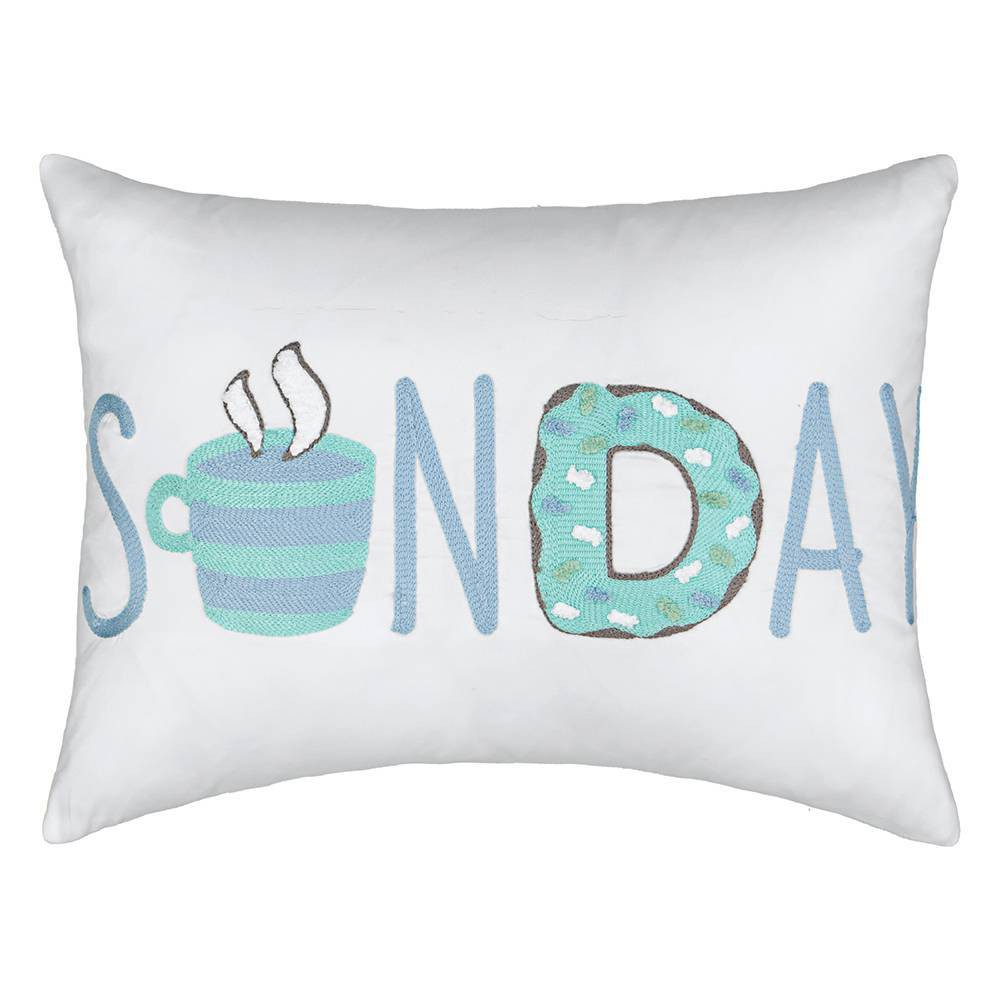 "Image of ""12""""x18"""" Lights Out Throw Pillow Blue - Spree By Waverly"""