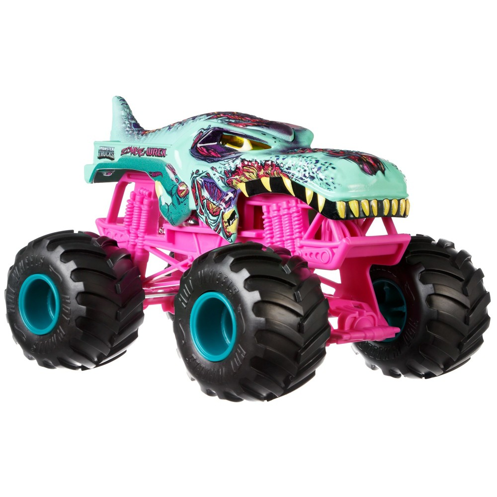 Hot Wheels Monster Trucks Zombie-Wrex Creature Truck