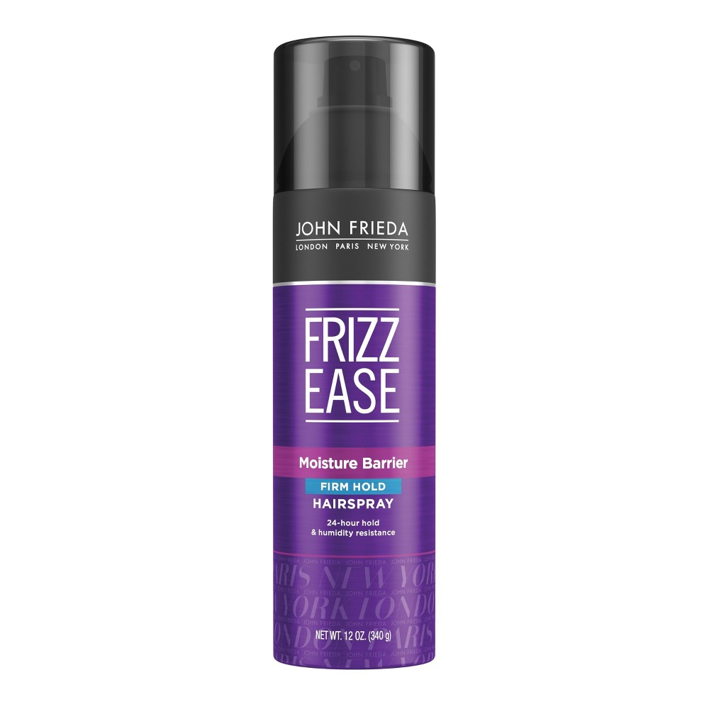 Image of Frizz Ease John Frieda Moisture Barrier Firm Hold Hair Spray - 12oz