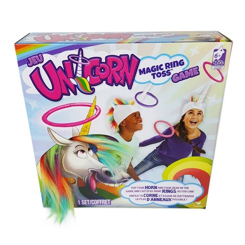 Unicorn Magic Ring Toss Game - image 1 of 3