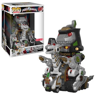 "Funko POP! TV Power Rangers- 10"" Ultrazord Mini Figure"