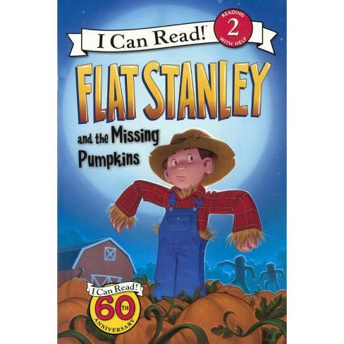 Flat Stanley and the Missing Pumpkins - (I Can Read!: Level 2) by  Jeff Brown (Hardcover) - image 1 of 1