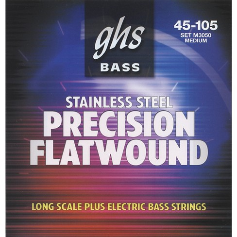 GHS M3050 Precision Flatwound Bass Strings Medium - image 1 of 1