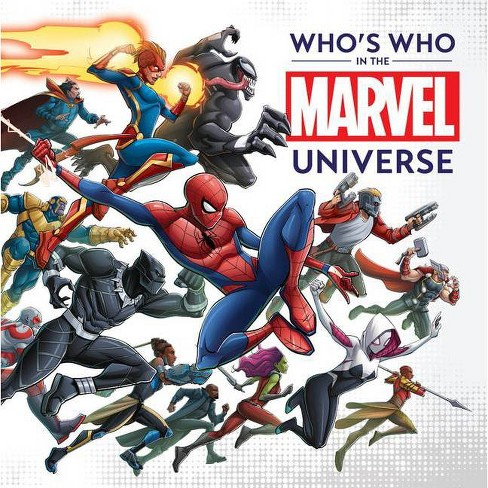 Who's Who in the Marvel Universe (Hardcover) - image 1 of 1