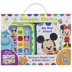 Disney Baby Electronic Me Reader Junior 8 Book Boxed Set