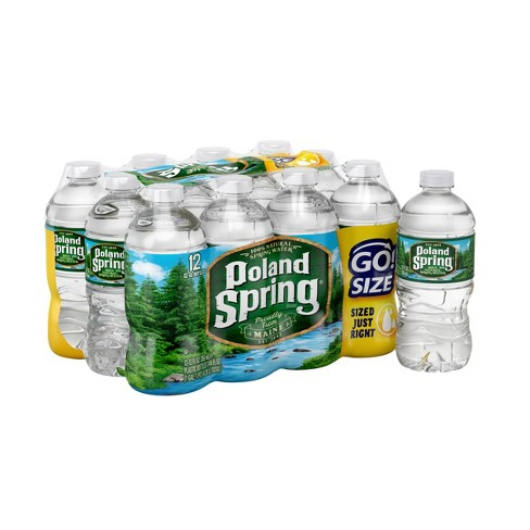 Poland Spring Brand 100% Natural Spring Water - 12pk/12 fl oz Bottles - image 1 of 5