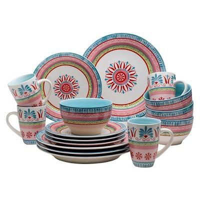 Euro Ceramica® Merille 16pc Dinnerware Set