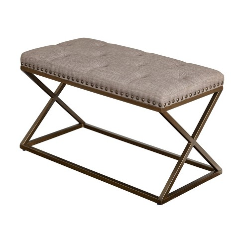 Ollie Bench - Taupe - Buylateral - image 1 of 4