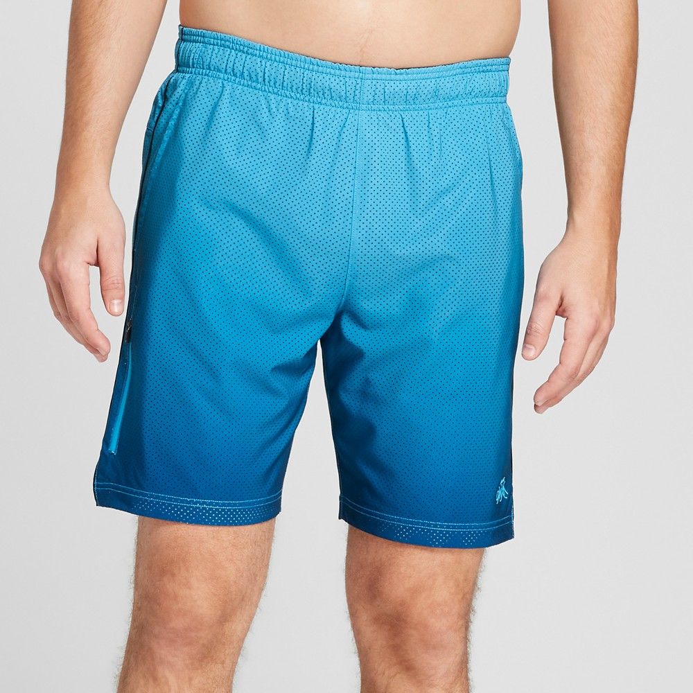 Aquatik Dna Men's 8 Athletic Swim Trunks - Electric Blue XL