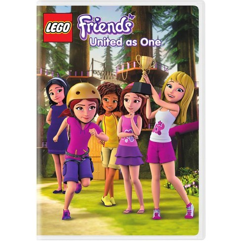 Lego Friends United As One Episodes 10 12 Dvd Target