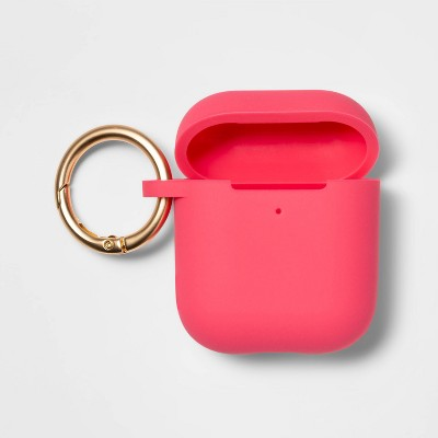 heyday™ AirPod Silicone Case - Coral Pink