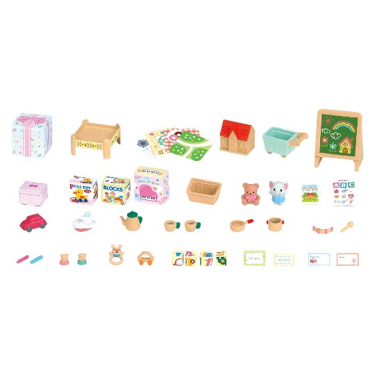 Calico Critters Toy Shop, doll playsets image number null