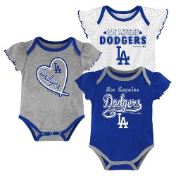 MLB Los Angeles Dodgers Girls' Bodysuit
