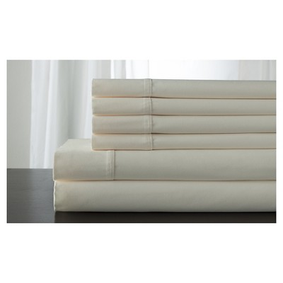 Langston Cotton Rich Bonus 800TC Sheet Set (King)Ivory