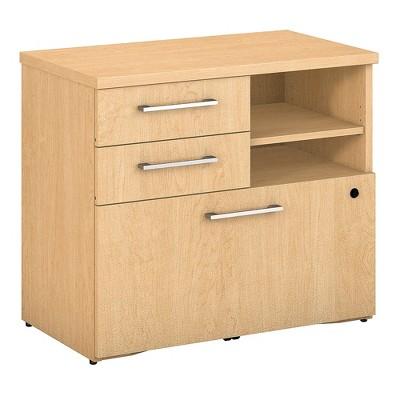 Bush Business Furniture 400 Series 30W File Cabinet, Natural Maple 400SFP30AC