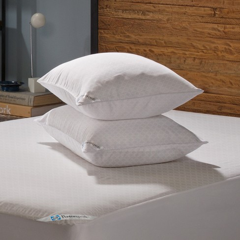 Stain Release Zippered Pillow Protectors 2pk- Sealy Posturepedic® - image 1 of 2