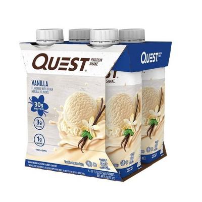Quest Ready To Drink Protein Shake - Vanilla - 44 fl oz/4ct