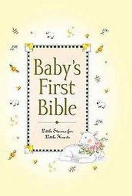 Baby's First Bible - by Melody Carlson (Hardcover)