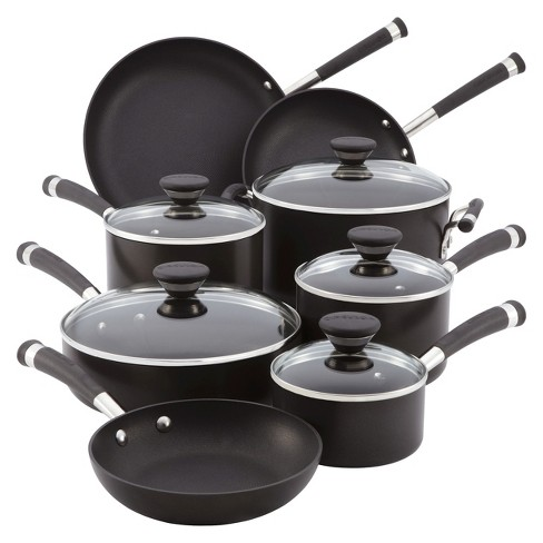Circulon Acclaim 13 Piece Hard-Anodized Cookware Set - Black - image 1 of 2